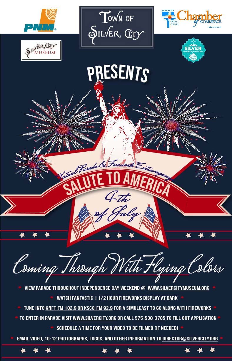 Silver City Virtual Independence Day Parade Poster